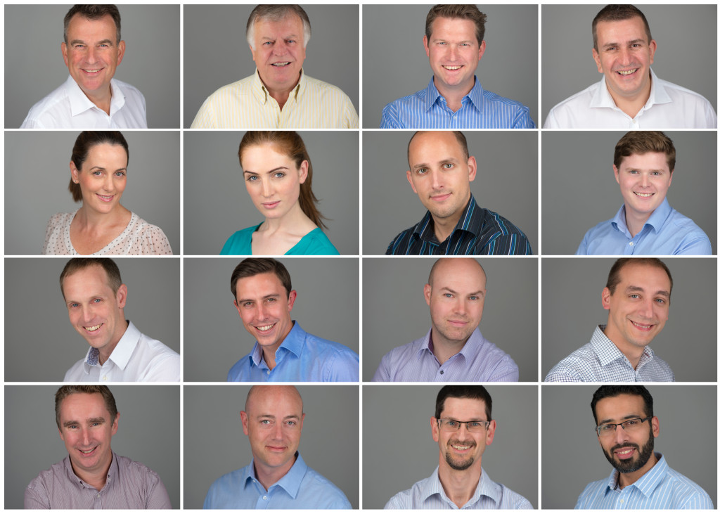 Gyrocom Company Team Headshots