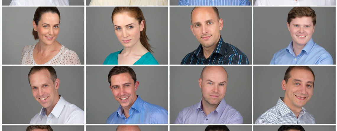 Corporate headshots for your leadership team