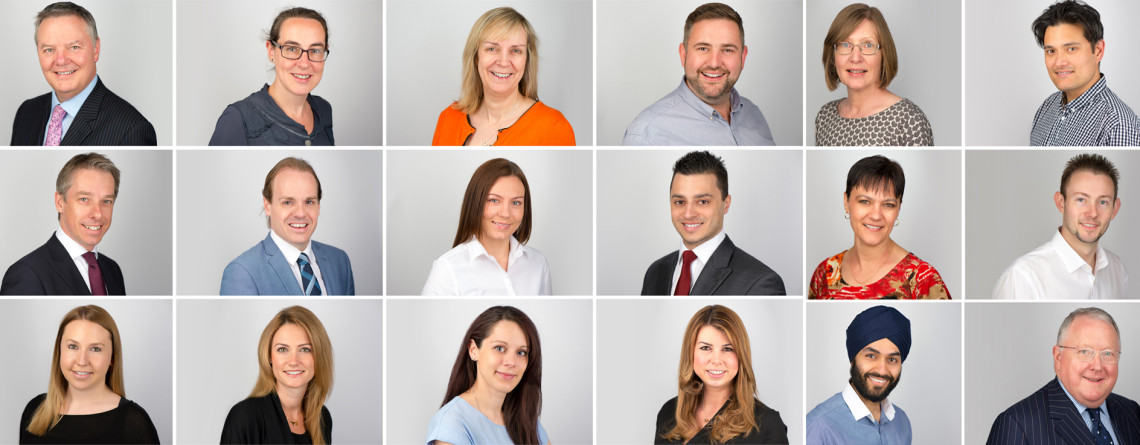 Corporate Headshots for your Company Leadership Team